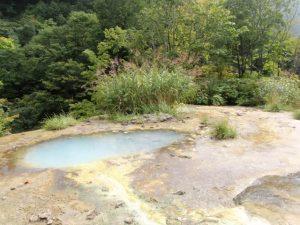 温泉の原泉