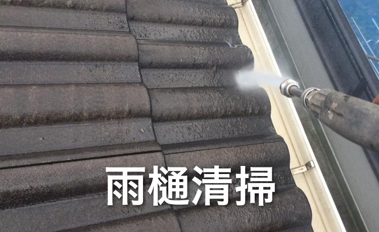 DIYで行える屋根修理:雨樋の清掃