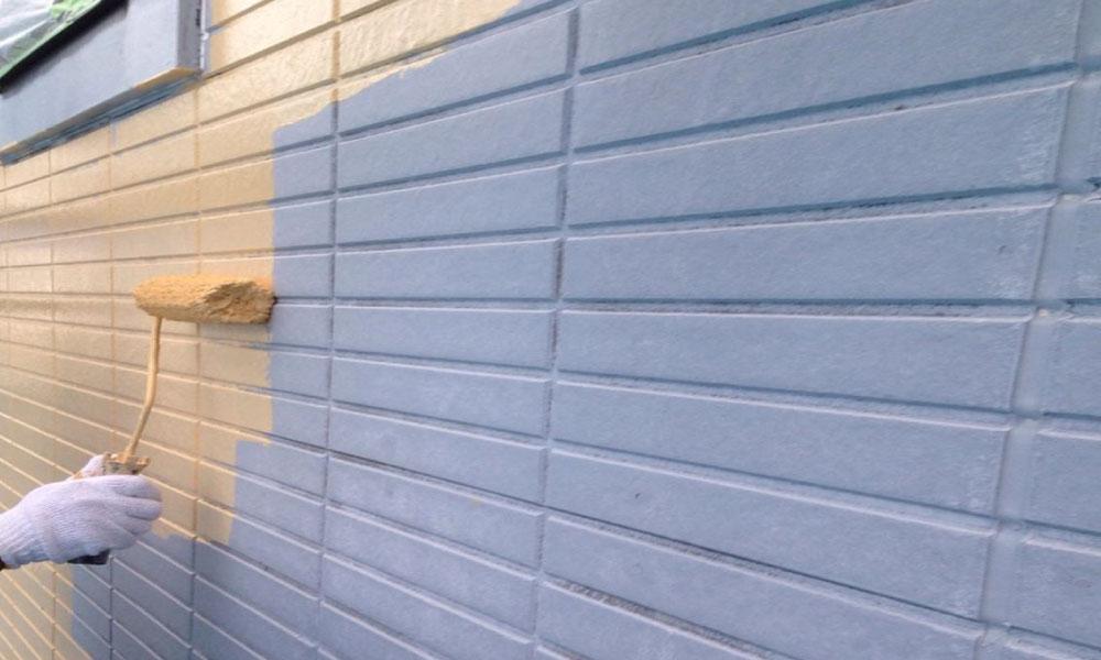 外壁の雨漏り修理の外壁塗装