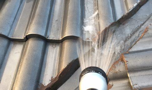 雨漏りの散水調査